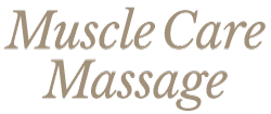 Muscle Care Massage Meppel Logo